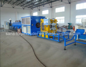 110mm-315mm PVC Pipe Extrusion Production Line/Plastic Machine pictures & photos