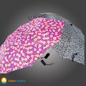 Hot Sell Auto Open Two Folding Umbrella pictures & photos