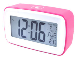 Custom Logo Promotional Digital Desk Clock pictures & photos