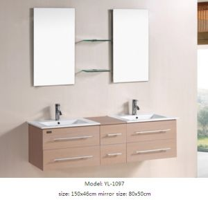 Sanitary Ware Bathroom Furniture with Glass Mirror