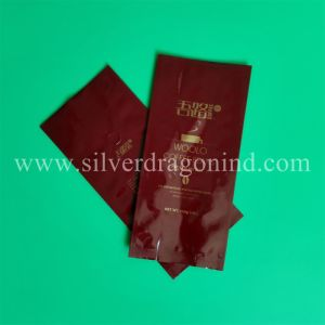 FDA Proved Aluminium Gusset Coffee Bags with Valve pictures & photos