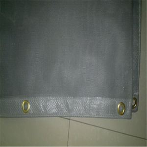 PVC Coated Polyester Safety Sheet pictures & photos