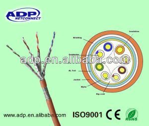 SFTP Shielded Cat7a LAN Cable pictures & photos