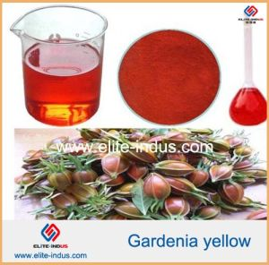 Natural Food Colorant Gardenia Yellow Powder pictures & photos
