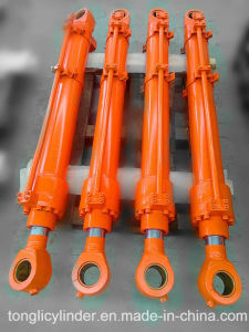 Excavator Hydraulic Cylinder Dh55 pictures & photos