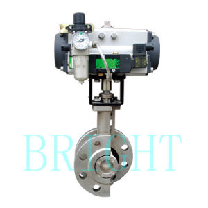 Hb2810 Pneumatic Eccentric Plug Rotary Control (Shut-off) Valve