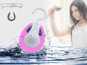 Waterproof Hook Design Bluetooth Shower Speaker& Auto FM Shower Radio pictures & photos