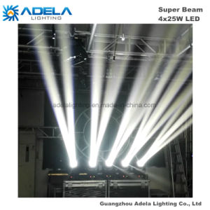 4X25W LED Super Beam Light Disco Light Stage Light pictures & photos