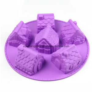 Birthday Party Decorations Silicone Cake Molds pictures & photos