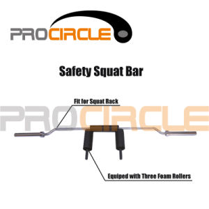 High Quality Crossfit Training Safety Squat Bar (PC-SM1006) pictures & photos