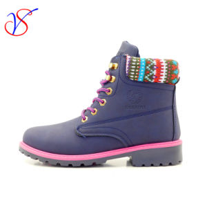 2016 New Style Injection Man Women Work Boots Shoes for Job with Quick Release (SVWK-1609-022 BLUE)