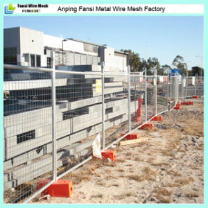 2015 New Product High Quality Galvanized Portable Temporary Construction Fence From China Manufacture pictures & photos