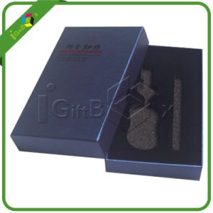 Custom Rigid Paper Cardboard Packaging Box with Foam Insert pictures & photos