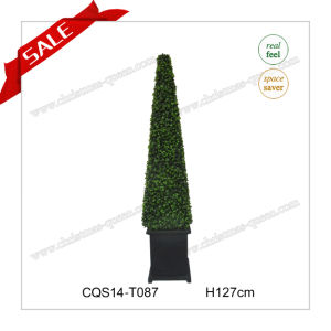 4FT Wholesale Potted Flower Garden Decoration Artificial Plants pictures & photos