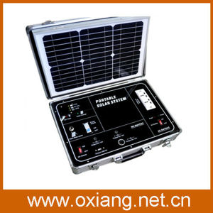 500W Household or Travel Using Portable Solar Generator Suitcase pictures & photos