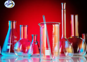 Wide Neck Erlenmeyer Flask for Laboratory Glassware pictures & photos