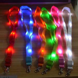 Strongly Recommend The Latest LED Three Generations of ID Card Lanyard pictures & photos