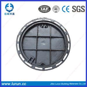 En124 D600 Round Square High Quality Nodular Casting Iron Manhole pictures & photos