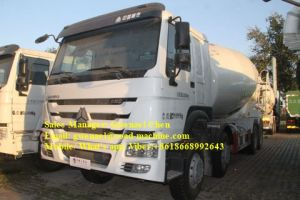 Sinotruck HOWO 8X4 Cement Concrete Mixer Trucks with 16 Cbm