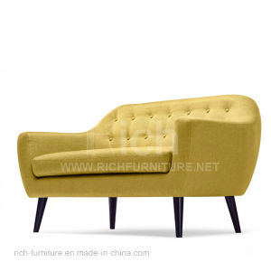 Modern Design Fabric Sofa for Living Room (2Seater) pictures & photos
