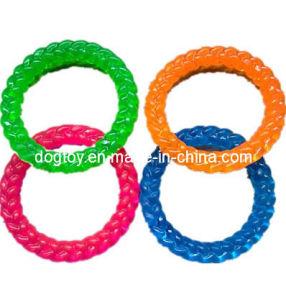 "6""TPR Ring Dog Toy for Wholesale pictures & photos"