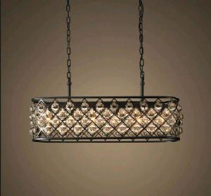 Metallic Clinder Chandelier with Crystal Balls (WHG-930) pictures & photos