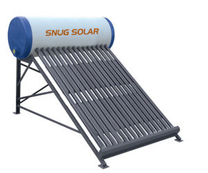 Aluminium Stands Solar Heater with Reflector pictures & photos