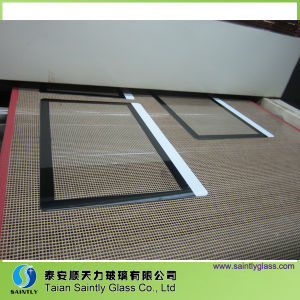 3mm-12mm Silk-Screen Printing Tempered Glass for Oven pictures & photos