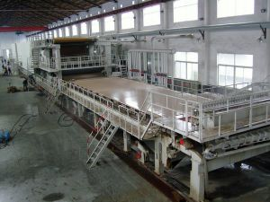3200mm Type Big Capacity 100 T/D Fluting Paper Making Machine Using Waste Paper as Raw Material pictures & photos