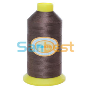 100% Bonded Polyester Multi-Filaments Sewing Thread for Leather Footwear pictures & photos