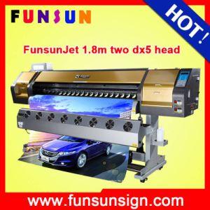 Funsunjet Fs-1802g Cheap Eco Solvent Printer (DX5 head, 1440dpi, Promotion price now) pictures & photos