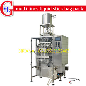 Ketchup Mayonese Venegar Oil Sauce Stick Packing Machine pictures & photos