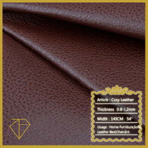 PU Fabric for Sofa/PU Sofa Leather/PU Artificial Leather for Sofa Cover/Furniture Leather
