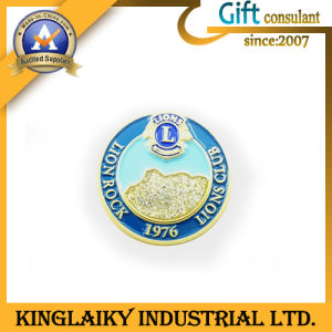 Customized Zinc Alloy Badge for Promotional Gift (KBG-018) pictures & photos