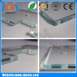 8mm, 10mm Wholesale Cheap Large Flat Shower Float Glass Screen pictures & photos
