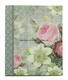 Top Quality A5 Notebook with Fabric Cover pictures & photos