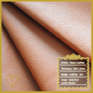 Embossed PU Leather for Sofa, Bed, Chair