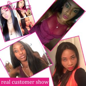 7A Grade Malaysian Virgin Hair with 13X4 Silk Base Closure pictures & photos
