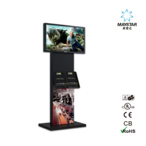 Full HD 3G WiFi Network Advertising Information Kiosk USB Panel pictures & photos