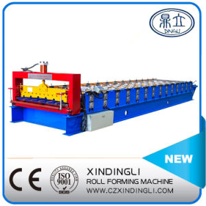 Roofing Sheet Red Metal Glazed Tile Roll Forming Machine pictures & photos