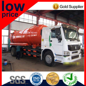 Chinese 13m3-22m3 Vacuum Sewage Suction Truck pictures & photos