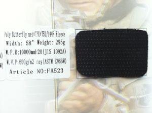 Butterfly Net Fabric+Waterproof TPU Film+Polar Fleece pictures & photos