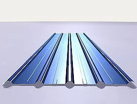 Galvanized Steel Roofing Sheet (YX26-205-820) pictures & photos
