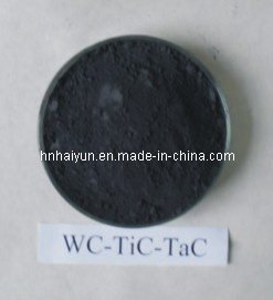 Wc-Tic-Tac Carbide Solid Solution/Tungsten & Titanium & Tantalum Carbide Solid Solution (F(WTITA)C 50/30/20, 38/38/24, 52/38/10)