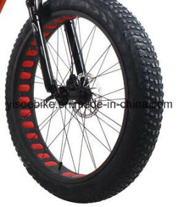 2017 New Women′s Fat Tires Motorized Beach Cruiser Bicycle with Step Through Frame pictures & photos