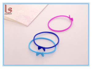 Tie Silicone Hand Ring Hair Elastic Ropes Glow in The Dark pictures & photos