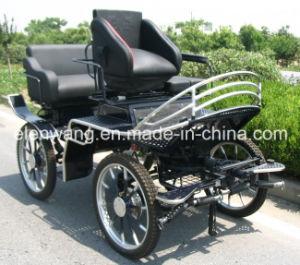 Marathon Horse Carriage with Four Soft Comfortable Seats (GW-HC010-5#) pictures & photos