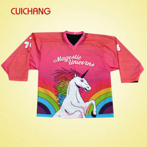Custom Sublimation Ice Hockey Jersey (HJ-009) pictures & photos