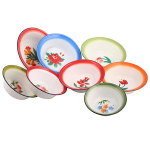 2015 High Qualityenamel Plate/Deep Plate/Bowls pictures & photos