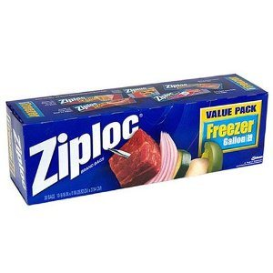 Zipper Freezer Bag